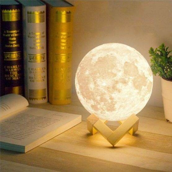 3d Moon Light Original Moon Lamp Price In Pakistan